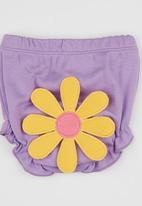 Baby Corner - Happy Pants  Flower Mid Purple