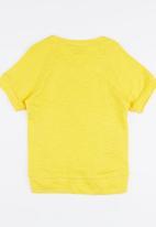POP CANDY - 7 Raglan Sleeve Tee Yellow