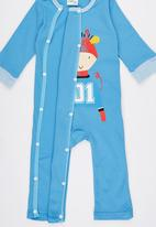 POP CANDY - Cow  Jumper Mid Blue