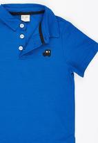 POP CANDY - Boys Golfer Mid Blue