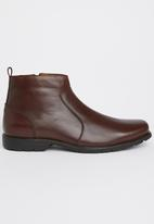 Step on Airs - Shane Casual Boots Dark Brown