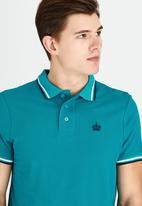 Pride & Soul - Rubidoux Golfer Mid Green