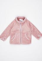 Luke & Lola - Fleece Jacket Pale Pink