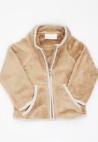 Luke & Lola - Fleece Jacket Camel/Tan