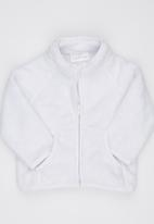 Luke & Lola - Fleece Jacket White