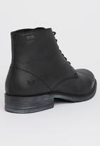 S.P.C.C. - Ankle Leather Boot Black