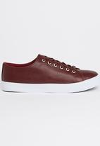 Dstruct - Reedham PU Tennis Shoes Red