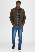 Dstruct - Tapered Fit Stonewashed Jean Blue