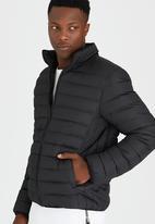 Brave Soul - Linear Padded Jacket Black
