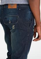 Brave Soul - Marple Slim Fit Jeans Dark Blue