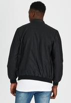 Brave Soul - Biker Jacket Black