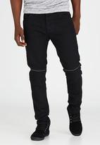 Brave Soul - Rotary Skinny Fit Jeans Black