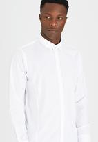 Brave Soul - Long Sleeve Shirt White