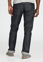 Brave Soul - Denton Straight Leg Jeans Dark Blue