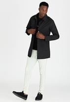 Brave Soul - Smart Mac Coat Black