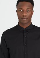 Brave Soul - Long Sleeve Shirt Black