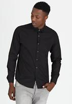Brave Soul - Long Sleeve Shirt Black