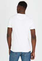 Brave Soul - Crew Neck T-Shirt White