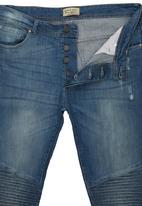 Brave Soul - Maverick Skinny Fit Jeans Blue