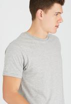 Brave Soul - Crew Neck T-Shirt Grey