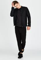 Brave Soul - Bomber Jacket Black
