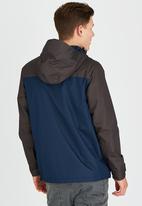 Brave Soul - Mini Ripstop Hooded Jacket Navy