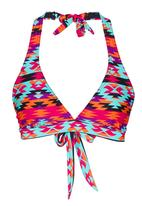 Sun Things - Mayan Halter-Neck Top Multi-colour