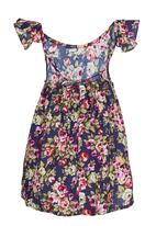 POP CANDY - Floral Dress Navy