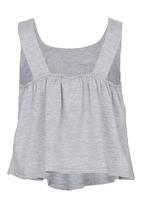See-Saw - Layer Top Grey Melange