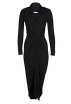 Gert-Johan Coetzee - Cowl Twist Dress Black