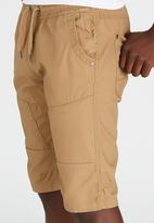 Brave Soul - Chino Style Shorts Stone
