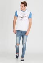 Quiksilver - Hammer T-Shirt White