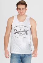 Quiksilver - Sheet Man Tank White