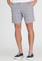 Brave Soul - Above the Knee Shorts Navy