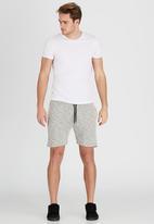 Brave Soul - Space Dye Shorts Grey