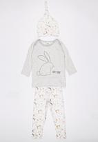 POP CANDY - Bunny 3 Piece Set Grey