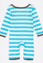 POP CANDY - Lion  Stripe Jumper Blue