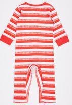 POP CANDY - Stripe Jumper Red