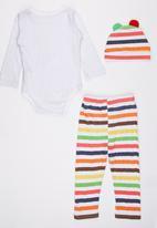 POP CANDY - Stripe 3 Piece Set Multi-colour