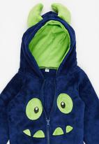 POP CANDY - Monster Hooded Zip Jacket Navy