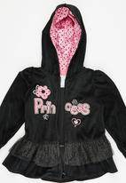 POP CANDY - Hooded Jacket Pant Set Black