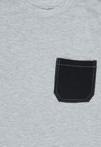 Rebel Republic - 2 Pack Check PJ Set Grey