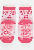 Character Baby - Hello Kitty Rattle fun socks Pale Pink