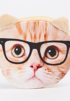 POP CANDY - Smart Kitty Coin Purse Cream