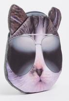 POP CANDY - Cool Kitty Coin Purse Grey
