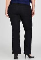 STYLE REPUBLIC PLUS - Bootleg Jeans Black