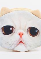POP CANDY - Grumpy Kitty Coin Purse Cream