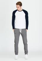 Superdry. - Orange Label Slim Jogger Grey