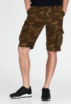 Superdry. - Core Cargo Lite Shorts Khaki Green