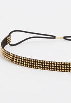 Joy Collectables - Diamante Headband Gold